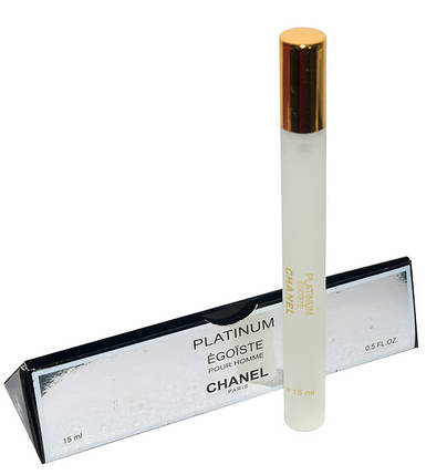 Мужские духи Chanel Egoiste Platinum пробник 15 мл, фото 2