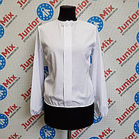 Школьная детская блузка под манжет  на девочку  AGATKA
