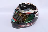 Шлем-интеграл BLD №-878 черный / красный