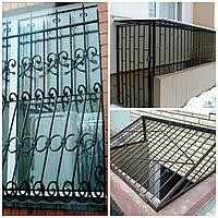 Решітки - ґрати віконні, балконні та підвально-тамбурні