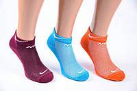 Носки женские спортивные сетка «Nike» 35-41р. Ассорти