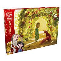 Пазл с деревянной рамкой HAPE Маленький принц - Сад роз (824708)