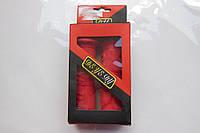 Ручки руля силикон красные Pro-Art