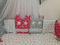Бортики-защита на детскую кроватку, фото 1