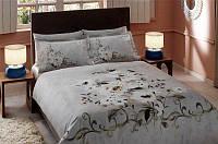 TAC евро комплект постельного белья delux saten Hermes, фото 1