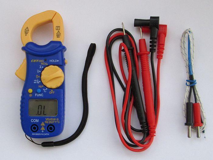 Токоизмерительные клещи мультиметр Chy-88g, автомат