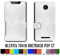 Чехол книжка для Alcatel 7041D Onetouch Pop C7