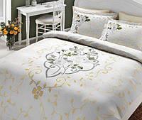 TAC евро комплект постельного белья delux saten Angelina sari, фото 1