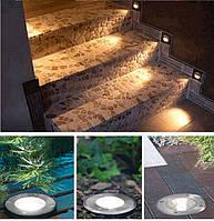 Лестничные и тротуарные светильники