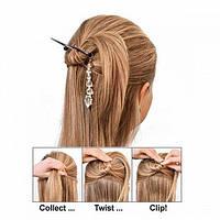 Набор стильных заколок для волос Twist n Clip (Твист ен Клип), фото 1