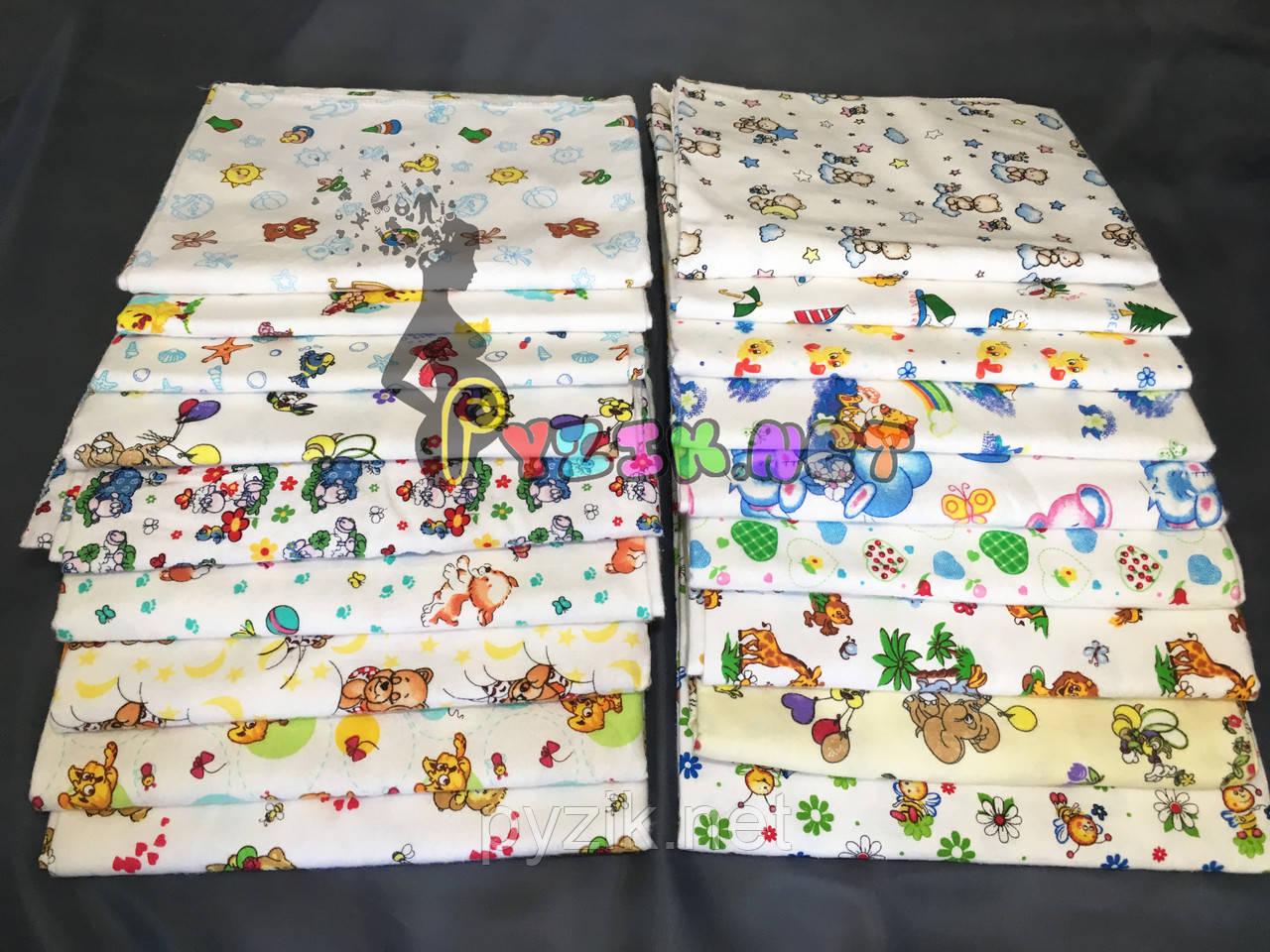 Комплект нежные байковые пеленки нейтральные тона (5 шт), лучшие ... 31b0b09342c