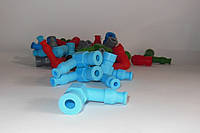 Насвечник 2Т силикон голубой MPM