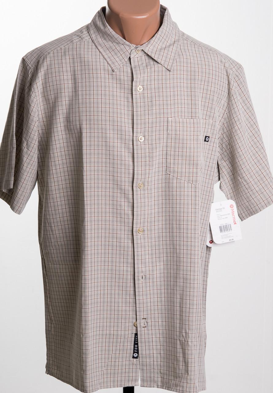 0f8752607cdd Marmot Eldidge SS рубашка с к/р c Rayon размер XL ПОГ 63 см MRSP ...