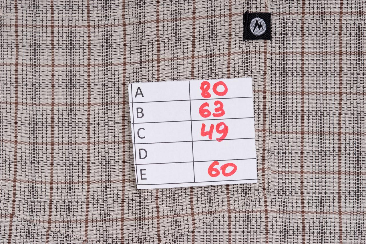 6c41f4f3572f ... Marmot Eldidge SS рубашка с к/р c Rayon размер XL ПОГ 63 см MRSP