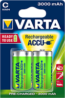 Аккумулятор Varta C (R14), 3000mAh Ni-MH