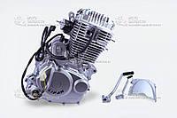Двигатель (мотор) в сборе для китайских 4-х такных мотоциклов LIFAN CB-250 / Viper 250 / Mustang / Geon (Лифан / Мустанг / Вайпер / Геон)