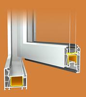 Металлопластиковые окна из профиля WDS — 400