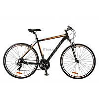 "Велосипед Leon 28"" HD-85 2017 AM 14G Vbr рама-21"" Al черно-оранжевый (OPS-LN-28-006)"