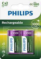 Аккумулятор Philips C (R14), 3000mAh Ni-MH