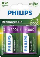 Аккумулятор Philips D (R20), 3000mAh Ni-MH