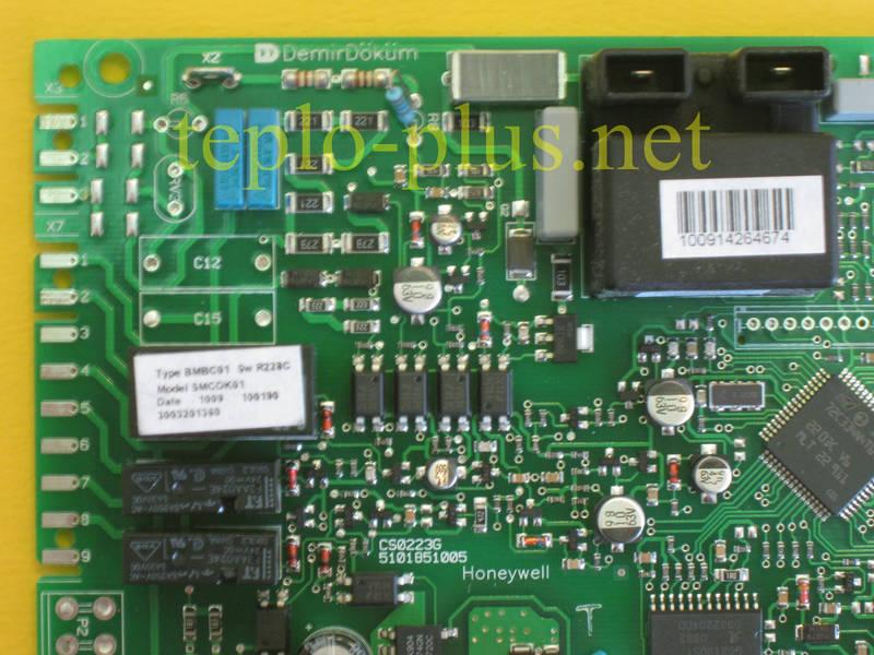 Плата управления 3003201360 (D003201360) Demrad Calisto HKD (BKD) 120/220, HKD (BKD) 124/224, HKD(BKD) 130/230, фото 2