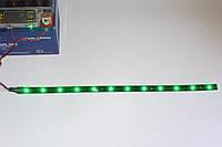 Лента светодиодная LED зеленая 12 диодов