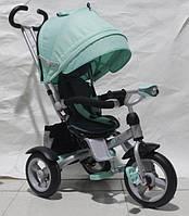 Трехколесный велосипед-коляска CROSSER T-503 на надувных колесах
