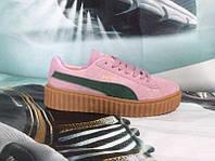 f56c91078182 1580UAH. 1580 грн. Под заказ. Женские повседневные кроссовки PUMA Rihanna  Suede Creeper ...