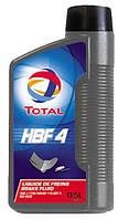 Тормозная жидкость TOTAL HBF 4 0.5л