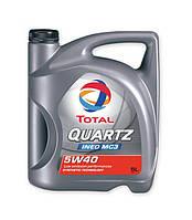 Моторное масло Total QUARTZ Ineo MC3 5w40 5л