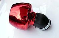 Фильтр-нулевик d-35/40 мм красный турбина
