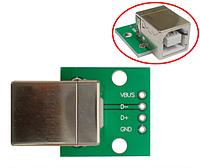 Перехідник адаптер USB type B - DIP