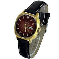 Raketa made in USSR позолоченные часы с календарем автоподзавод -Shop vintage watches in Ukraine
