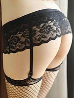 Пояс для чулок / Эротическое белье / Сексуальное белье / Еротична сексуальна білизна, фото 1
