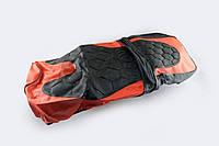 Чехол сиденья Active черно-красный SOFT SEAT