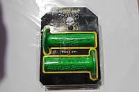 Ручки руля FINGERS зеленые