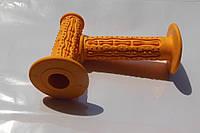 Ручки руля FINGERS оранжевые