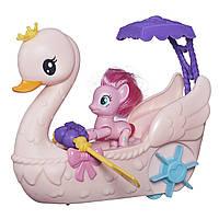 Набор Пинки пай на музыкальной лодке Лебедь My Little Pony Magic Pinkie Pie Оригинал из США!