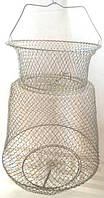Садок рыболовный металлический круглый диаметр 25см