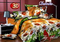 Полуторный постельный комплект Бабочки