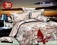 Постельное белье в подарок на свадьбу 3Д Моника