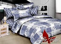 Полуторное постельное белье из ренфорса Мираж