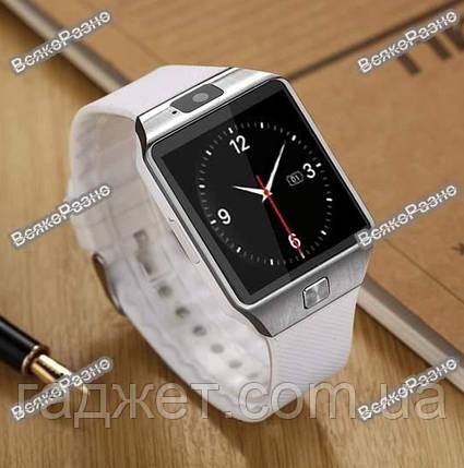 Умные часы Smart Watch DZ 09 Белые, фото 2