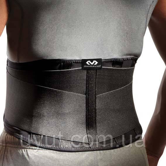 Облегченный ортопедический бандаж для поддержки спины McDavid 495 Back Support