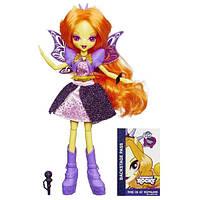 """My Little Pony Девочки Эквестрии """"Радужный рок"""" Адажио Дазл Рок Звезда Equestria Girls Rainbow Rocks Singing Adagio Dazzle Doll A9888/A6388(B0465)"""