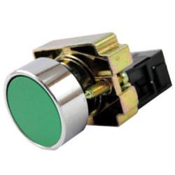 Кнопка управления без подсветки 1з (1НО) ИЭК LAY5-BA31 зеленая