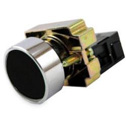 Кнопка управления без подсветки 1з (1НО) ИЭК LAY5-BA21 черная