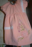 Платье детское, р.68 (1-1,6года). платье летнее.