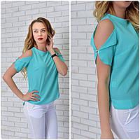 Блузка женская, модель 901, бирюзовый, фото 1