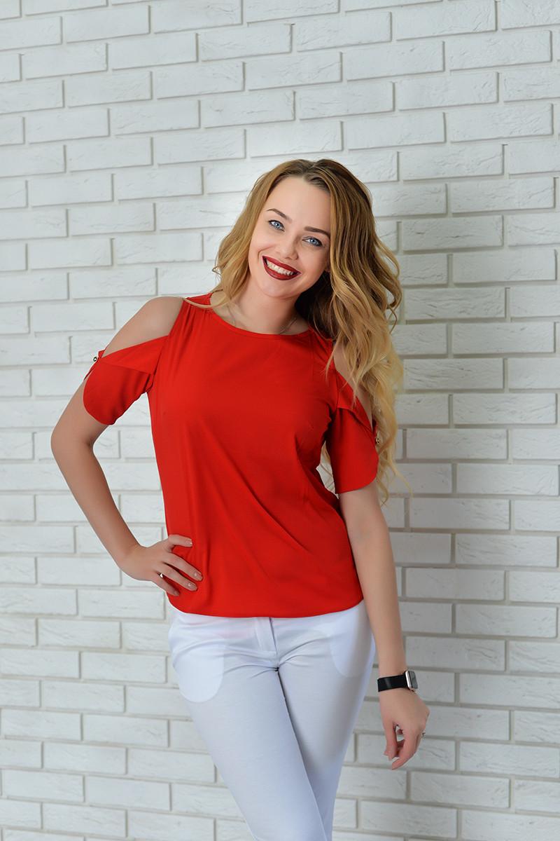 Блузка женская, модель 901, красный